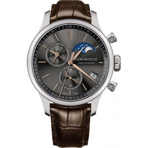 Zegarek Aerowatch Renaissance Moon Phase model 78986-AA02