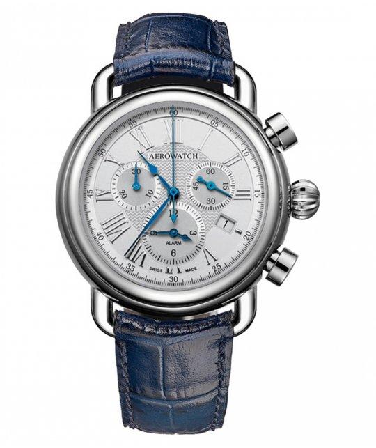 Zegarek męski Aerowatch 1942 Alarm Clock model 85939-AA09