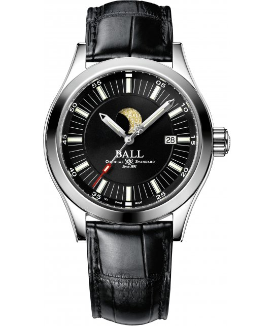Zegarek męski Ball Engineer II Moon Phase NM2282C-SJ-BK