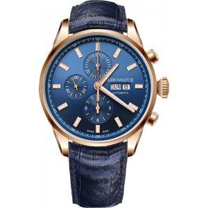 Zegarek męski Aerowatch Les Grandes Classiques Automatic Valjoux Chronograph 61989 RO01