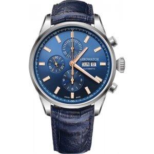 Zegarek męski Aerowatch Les Grandes Classiques Automatic Valjoux Chronograph 61989 AA01