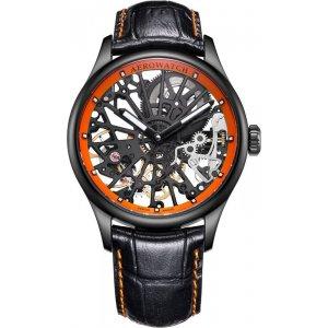 Zegarek męski Aerowatch Renaissance Skeleton Cobweb 50981 NO18