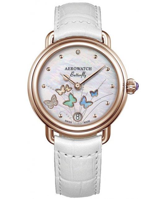 Zegarek damski Aerowatch Butterfly Limited Edition 44960 RO05