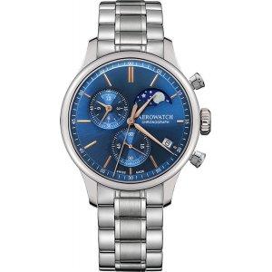 Zegarek męski Aerowatch Renaissance Chronograph Moon Phase 78986 AA04 M