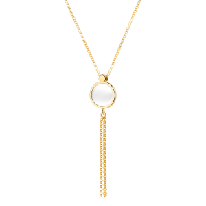 Naszyjnik z masą perłową