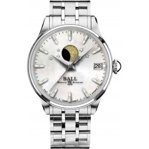 Zegarek Ball Trainmaster Moon Phase Ladies